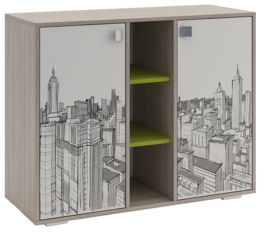 Купить Комод для детской Мегаполис в интернет магазине мебели СТОЛПЛИТ