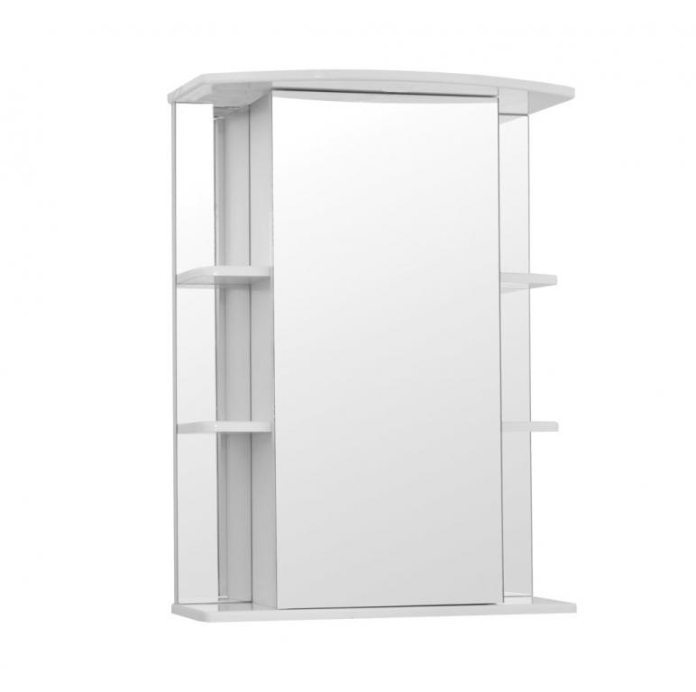 Купить Шкаф зеркальный (зеркало в ванную) Кристалл 65 в интернет магазине мебели СТОЛПЛИТ