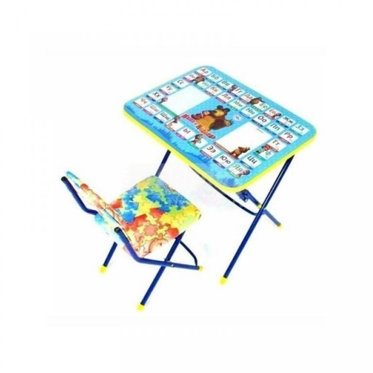 Купить Набор мебели Ника Маша и Медведь Азбука2 КУ1/2 в интернет магазине мебели СТОЛПЛИТ