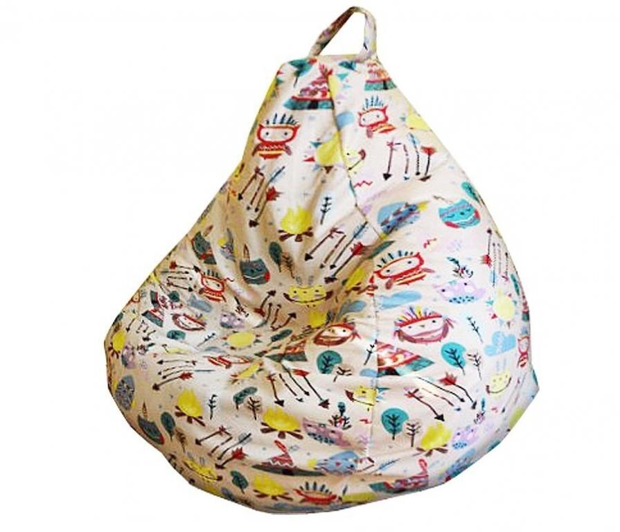 Купить Кресло-мешок Микровелюр XL 120*85 в интернет магазине мебели СТОЛПЛИТ