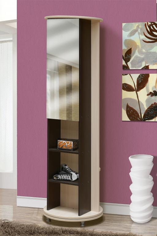 Купить Прихожая Марго крутящаяся стойка с зеркалом №13 в интернет магазине мебели СТОЛПЛИТ