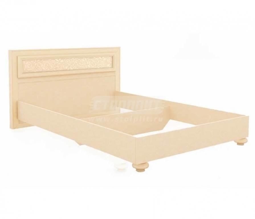 Купить Мебель для спальни Александрия (Кожа Ленто/Рустика) кровать 1800 625.170 в интернет магазине мебели СТОЛПЛИТ