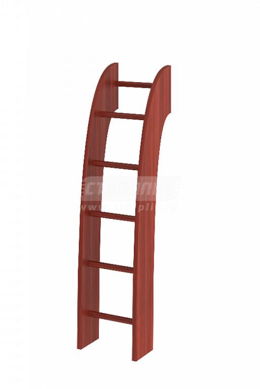 Купить Лестница деревянная для 2-х ярусных кроватей в интернет магазине мебели СТОЛПЛИТ