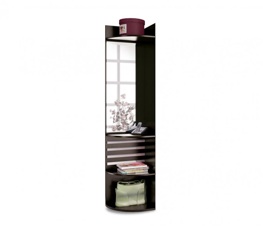 Купить Полонез СВ-17/1Л Стеллаж-зеркало левый в интернет магазине мебели СТОЛПЛИТ