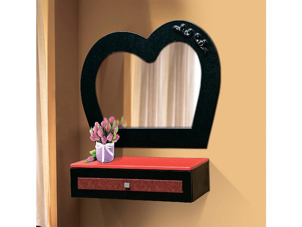 Купить Стол туалетный подвесной Кокетка с зеркалом в интернет магазине мебели СТОЛПЛИТ
