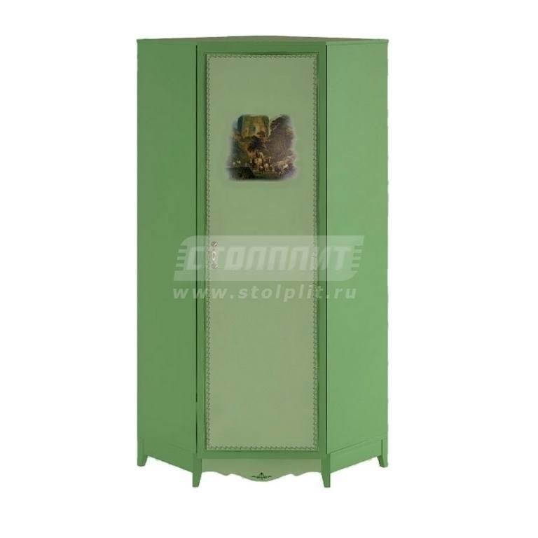 Купить Шкаф угловой 1-дверный в интернет магазине мебели СТОЛПЛИТ