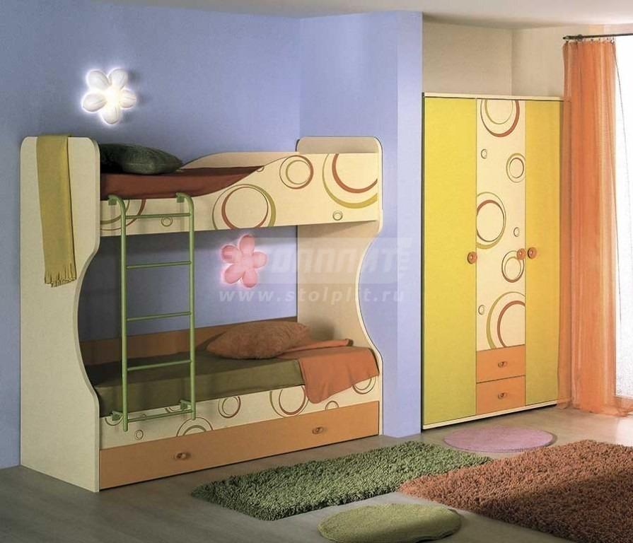 Купить Мебель для детских комнат Фруттис № 3 в интернет магазине мебели СТОЛПЛИТ