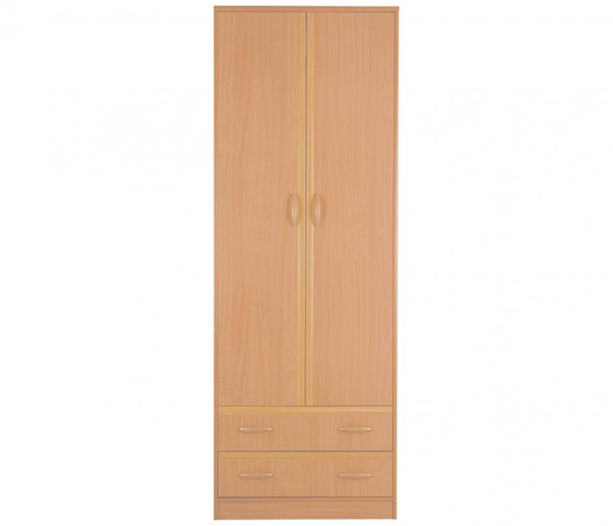 Купить Симба С-05 Шкаф 2-х дверный с 2-мя ящиками в интернет магазине мебели СТОЛПЛИТ