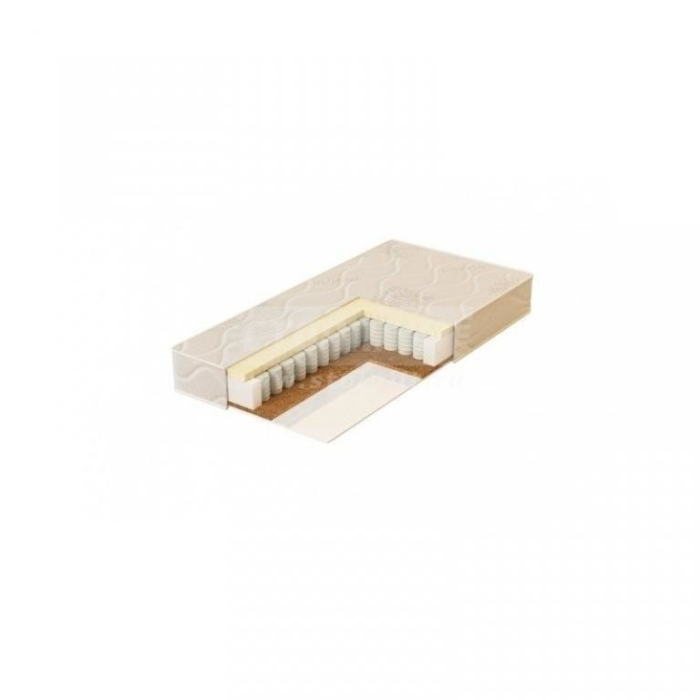 Купить Plitex Матрас в кроватку Bamboo Sleep блок независимых пружин кокос+латекс БС-119-01 в интернет магазине мебели СТОЛПЛИТ