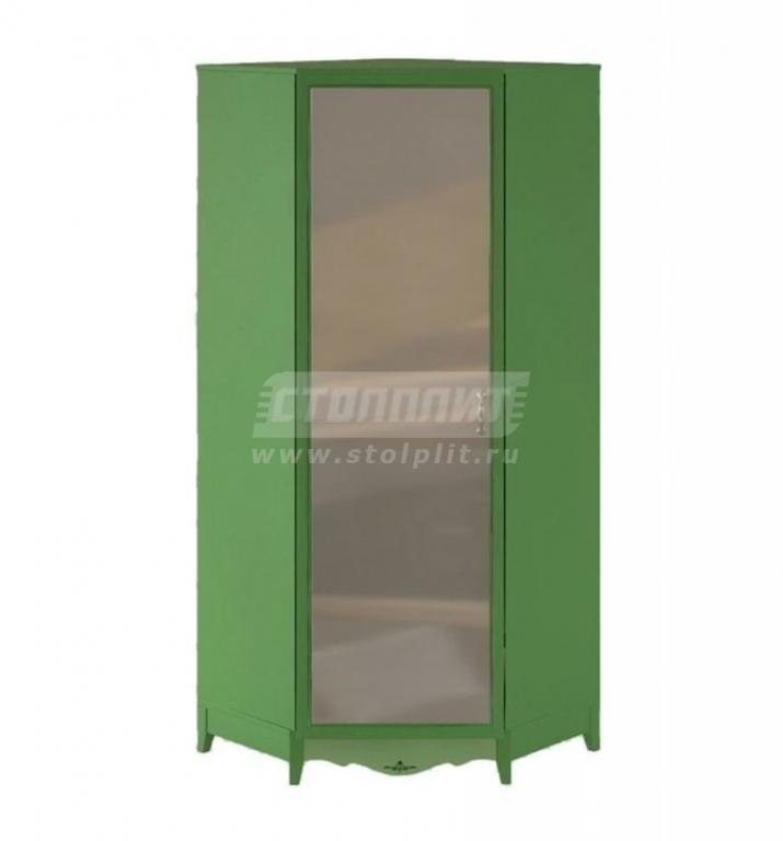 Купить Шкаф угловой 1-дверный, с зеркалом. в интернет магазине мебели СТОЛПЛИТ