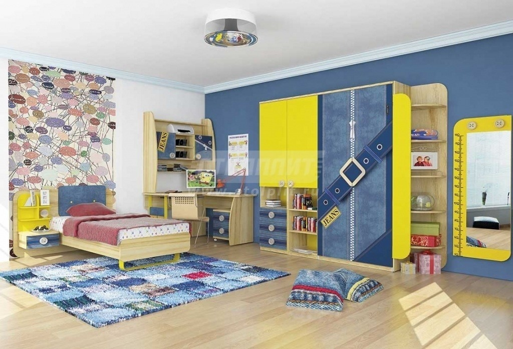Купить Мебель для детских комнат Джинс № 1 в интернет магазине мебели СТОЛПЛИТ