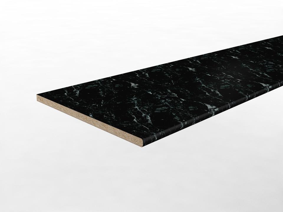 Купить Столешн 2440*600*38 F202 Черный Мрамор ST15 в интернет магазине мебели СТОЛПЛИТ