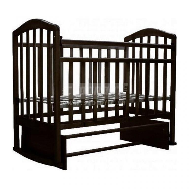 Купить Детская кроватка Алита 3 в интернет магазине мебели СТОЛПЛИТ