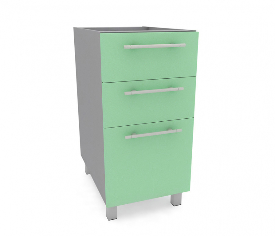 Купить Анна стол с ящиками накладки АСЯ-40 Бирюза в интернет магазине мебели СТОЛПЛИТ