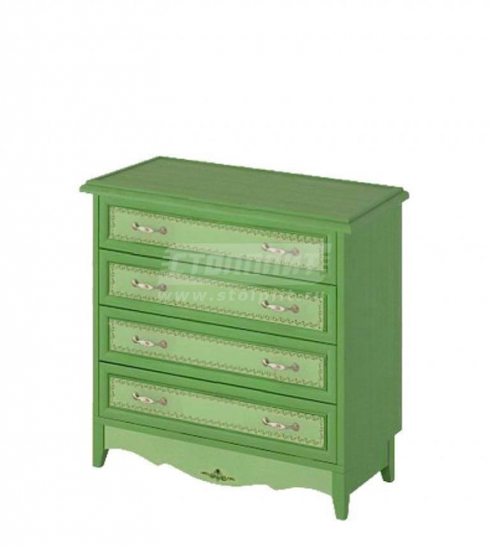 Купить Комод широкий 4 ящика. в интернет магазине мебели СТОЛПЛИТ