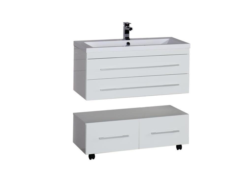 Купить Тумба Aquanet Нота 90 белый в интернет магазине мебели СТОЛПЛИТ