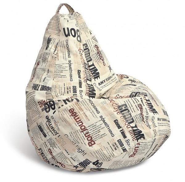 Купить Кресло-мешок-груша Бонжорно M в интернет магазине мебели СТОЛПЛИТ