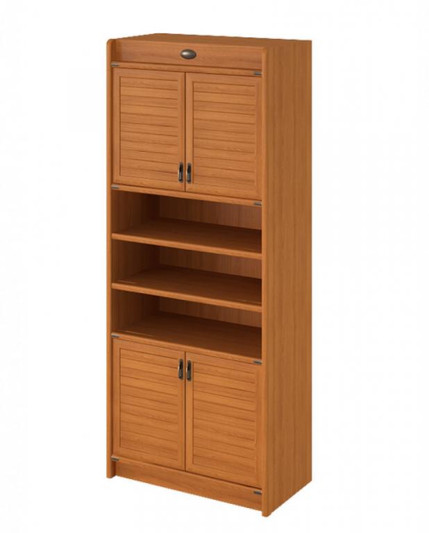 Купить Шкаф книжный 4-х дверный в интернет магазине мебели СТОЛПЛИТ