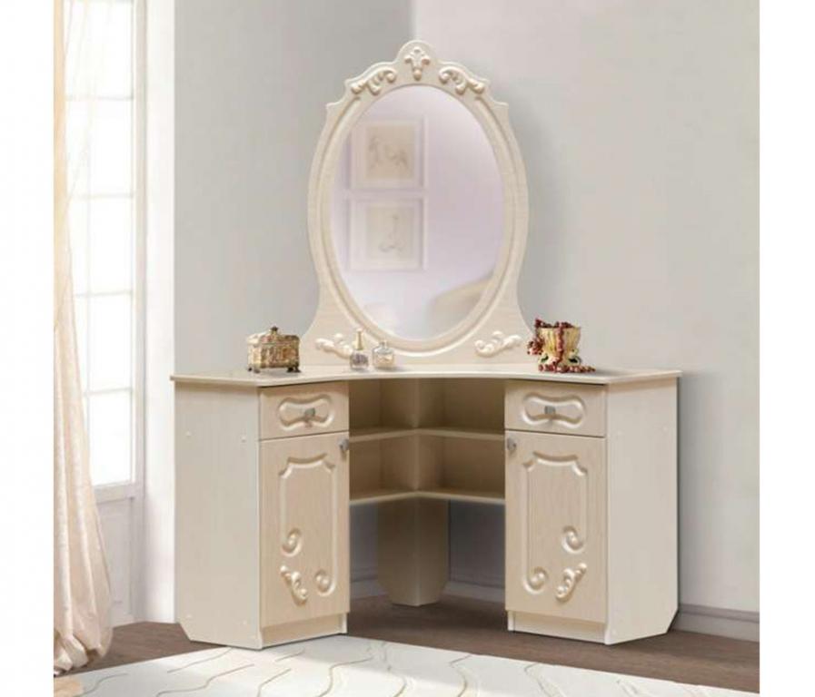 Купить Стол туалетный угловой  Джульетта в интернет магазине мебели СТОЛПЛИТ