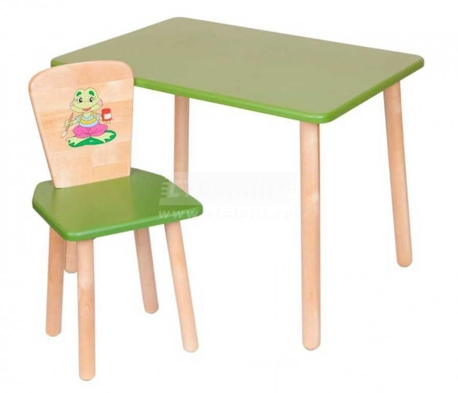 Купить Набор №6 Столик со стульчиком в интернет магазине мебели СТОЛПЛИТ