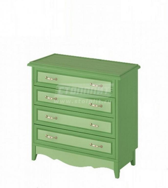 Купить Комод широкий 4 ящика в интернет магазине мебели СТОЛПЛИТ