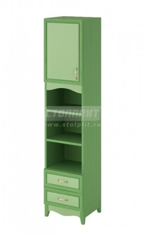 Купить Шкаф узкий 1-дверный с 2-мя ящиками и 2-мя полками. в интернет магазине мебели СТОЛПЛИТ