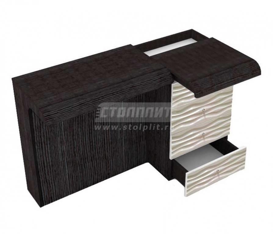 Купить Мебель для спальни Соната столик туалетный 628.020 в интернет магазине мебели СТОЛПЛИТ