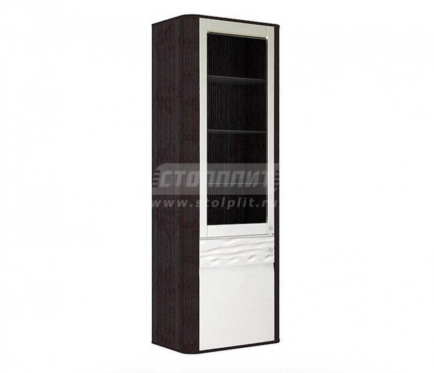 Купить Мебель для гостиных Соната шкаф с витриной 634.040 в интернет магазине мебели СТОЛПЛИТ