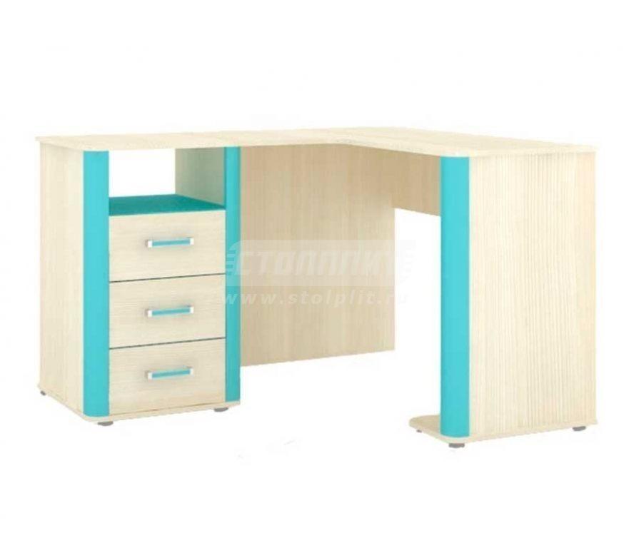 Купить Мебель для детских комнат Смайл стол угловой (правый) 508.210 в интернет магазине мебели СТОЛПЛИТ