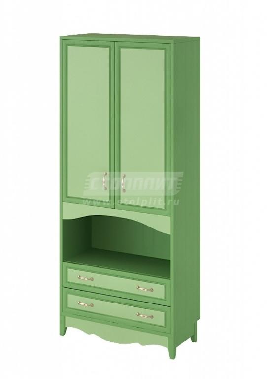 Купить Шкаф 2-х дверный с 2-мя ящиками. в интернет магазине мебели СТОЛПЛИТ