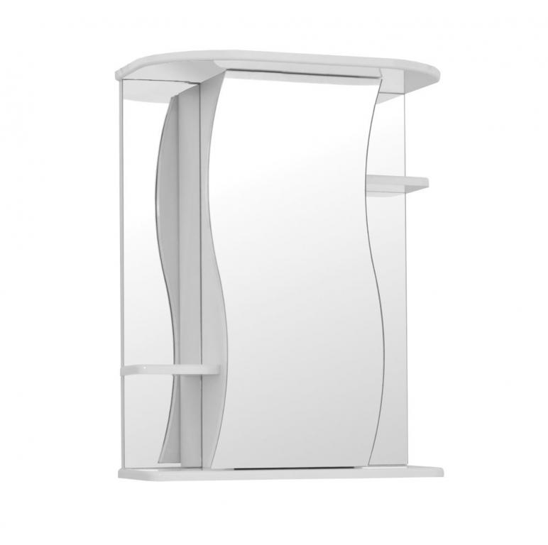 Купить Шкаф зеркальный (зеркало в ванную) Лилия 55 в интернет магазине мебели СТОЛПЛИТ