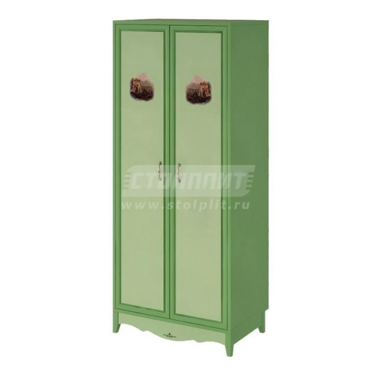 Купить Шкаф 2-х дверный со штангой в интернет магазине мебели СТОЛПЛИТ