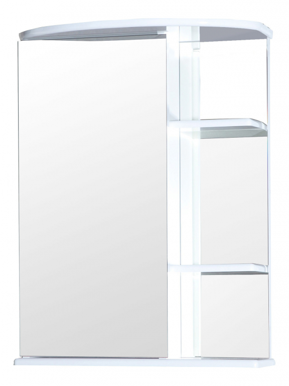 Купить Шкаф зеркальный (зеркало в ванную) Нарцисс 55 в интернет магазине мебели СТОЛПЛИТ