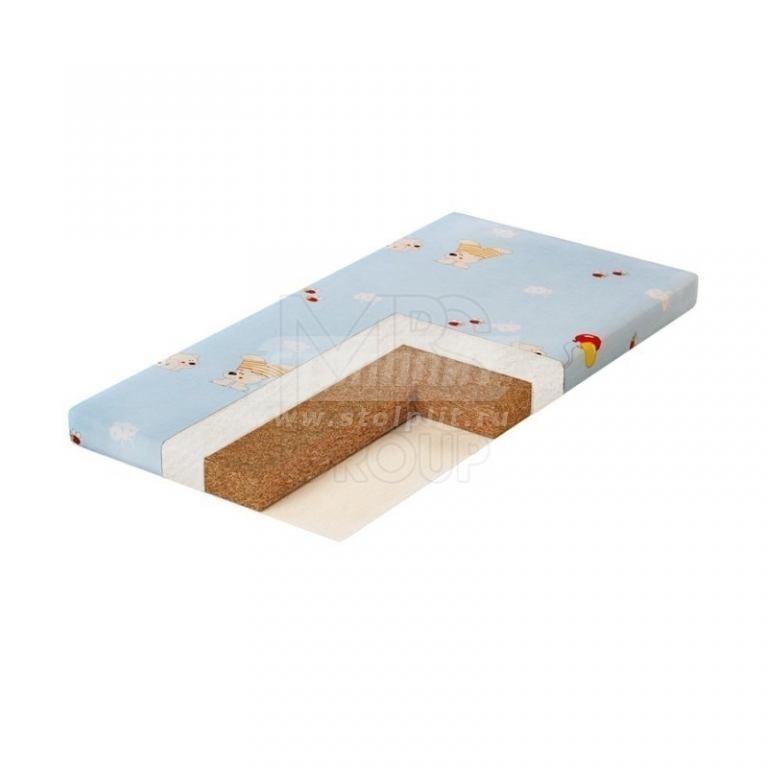 Купить Матрас в кроватку Plitex Юниор Кокос Ю-119-01 в интернет магазине мебели СТОЛПЛИТ
