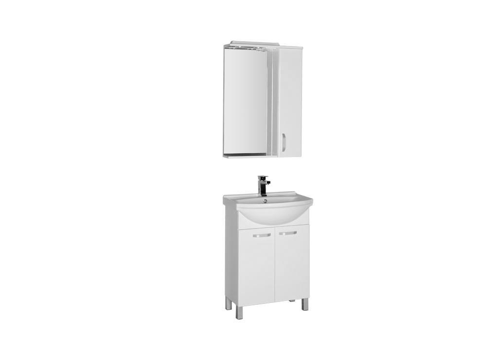 Купить Комплект мебели Aquanet Глория 60 белый в интернет магазине мебели СТОЛПЛИТ