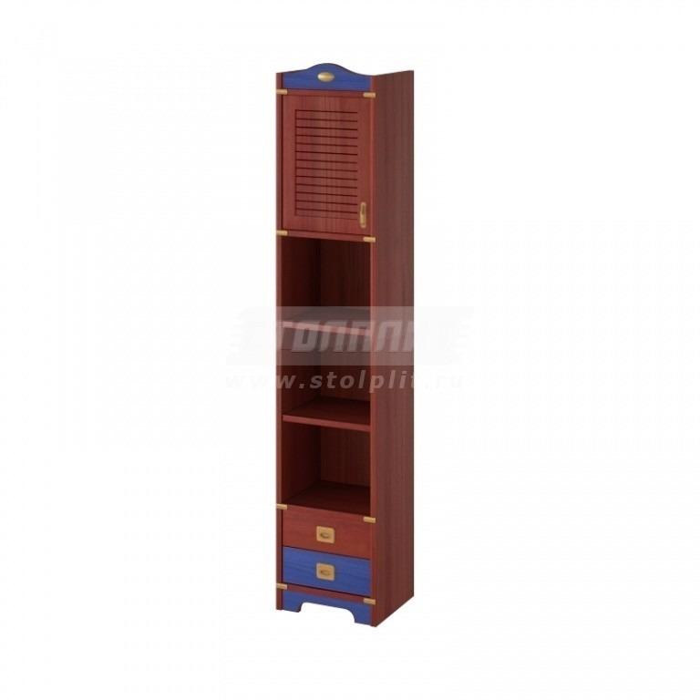 Купить Шкаф узкий с 2-мя ящиками и 2-мя полками в интернет магазине мебели СТОЛПЛИТ