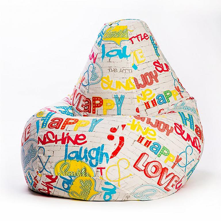 Купить Кресло-мешок Жаккард XXL (категория 2) в интернет магазине мебели СТОЛПЛИТ