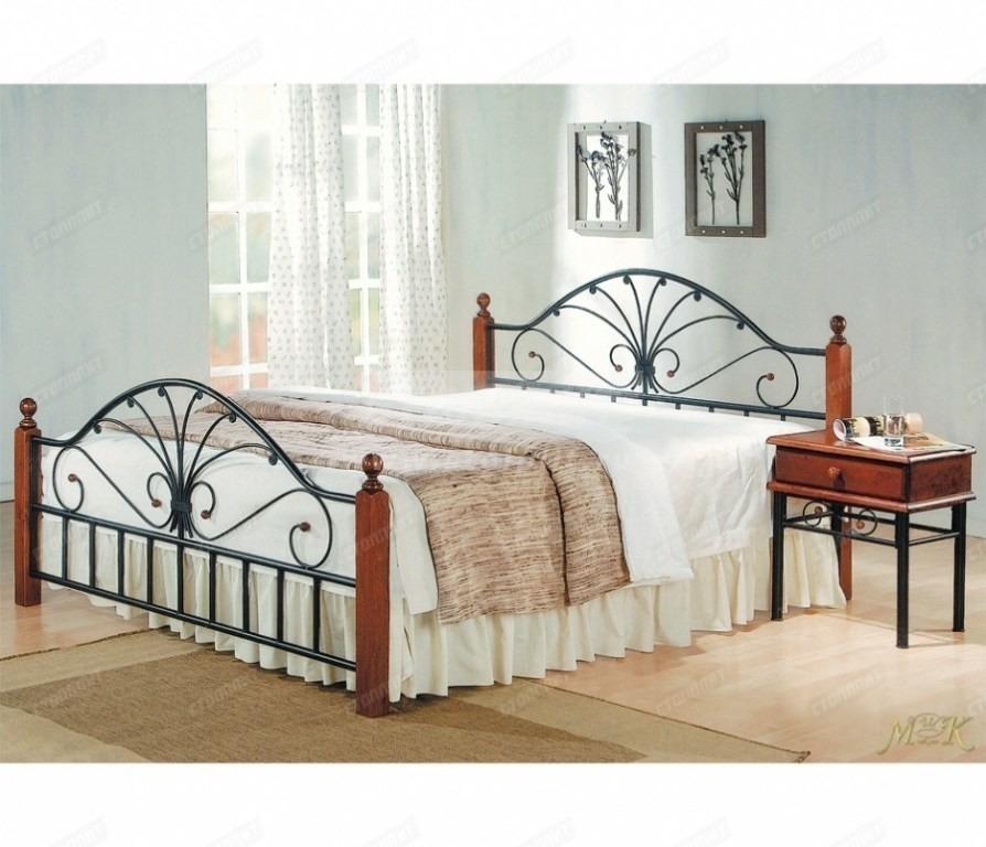 Купить Кровать полутороспальная АТ-9027 (160*200) в интернет магазине мебели СТОЛПЛИТ
