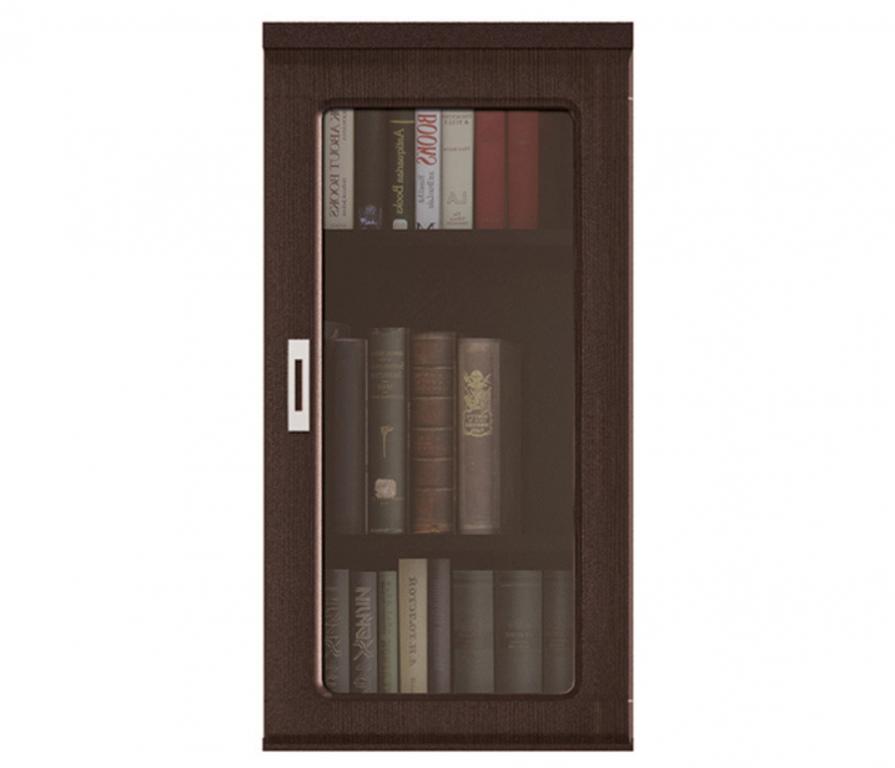 Купить Вива СТЛ.018.04 шкаф надстройка с витриной однодверная в интернет магазине мебели СТОЛПЛИТ