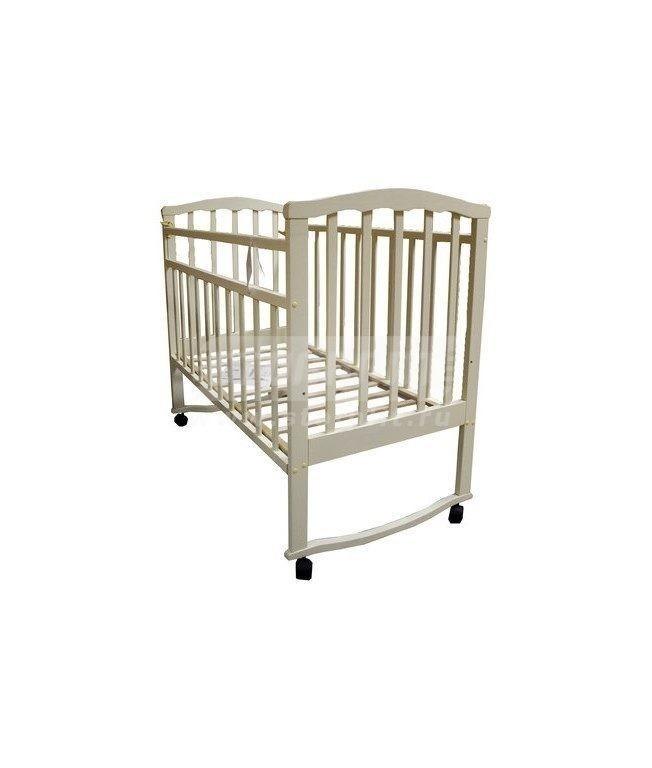 Купить Детская кроватка Золушка-1 слоновая кость 52105 в интернет магазине мебели СТОЛПЛИТ