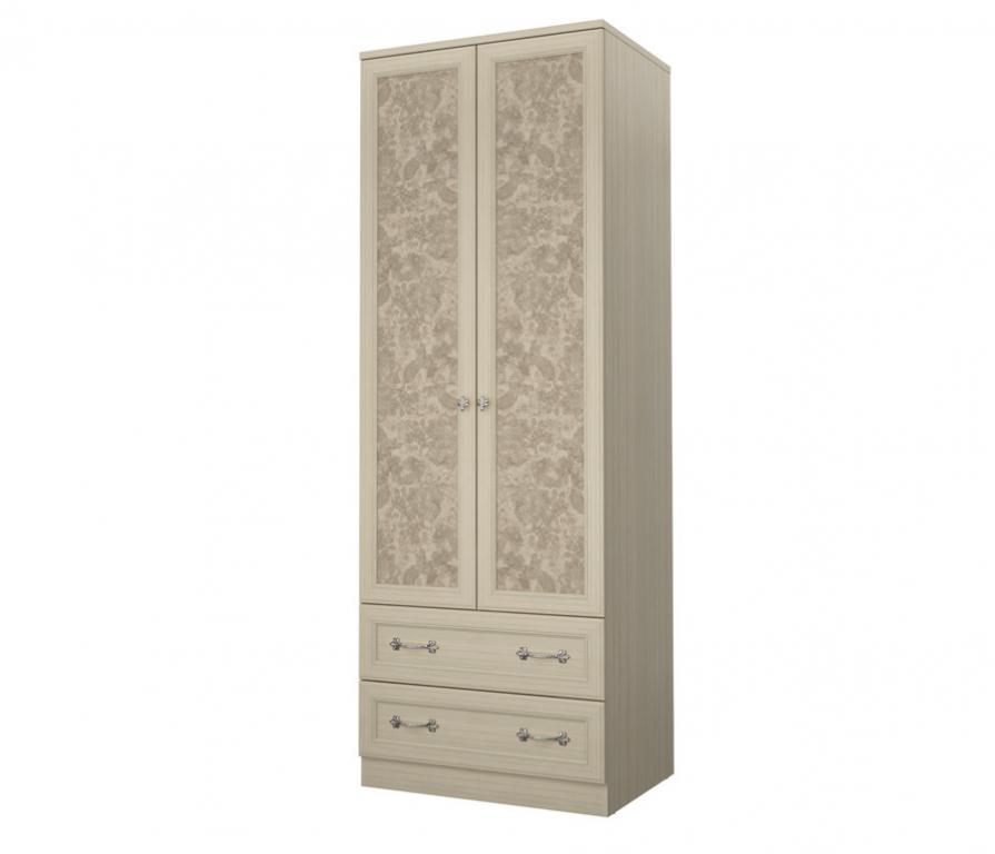 Купить Дженни СТЛ.127.03 Шкаф 2-х дверный с 2-мя ящиками в интернет магазине мебели СТОЛПЛИТ