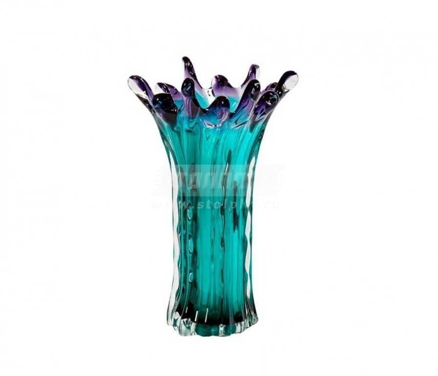 Купить Ваза стеклянная KL2134 в интернет магазине мебели СТОЛПЛИТ