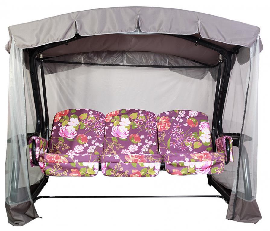 Купить Качели садовые Мастак Премиум с москитной сеткой в интернет магазине мебели СТОЛПЛИТ