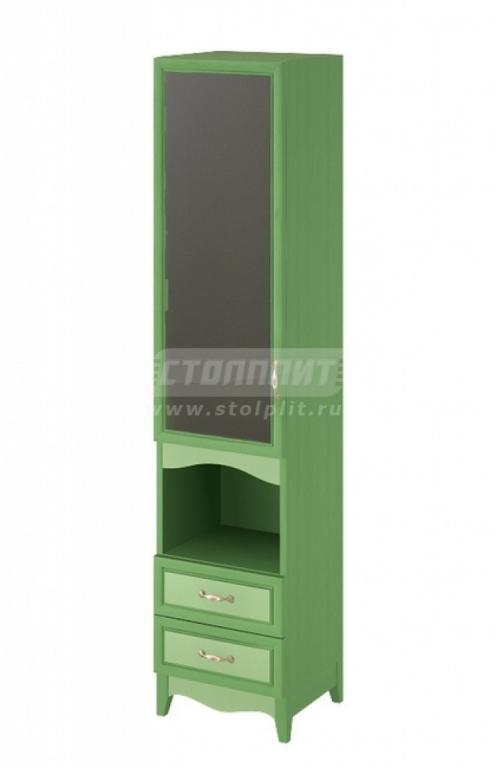 Купить Шкаф 1-дверный (СТЕКЛО), с 2-мя ящиками. в интернет магазине мебели СТОЛПЛИТ