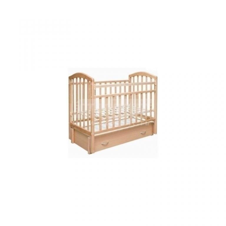 Купить Кровать детская Алита продол. маятник,закр. ящик, (бук) в интернет магазине мебели СТОЛПЛИТ