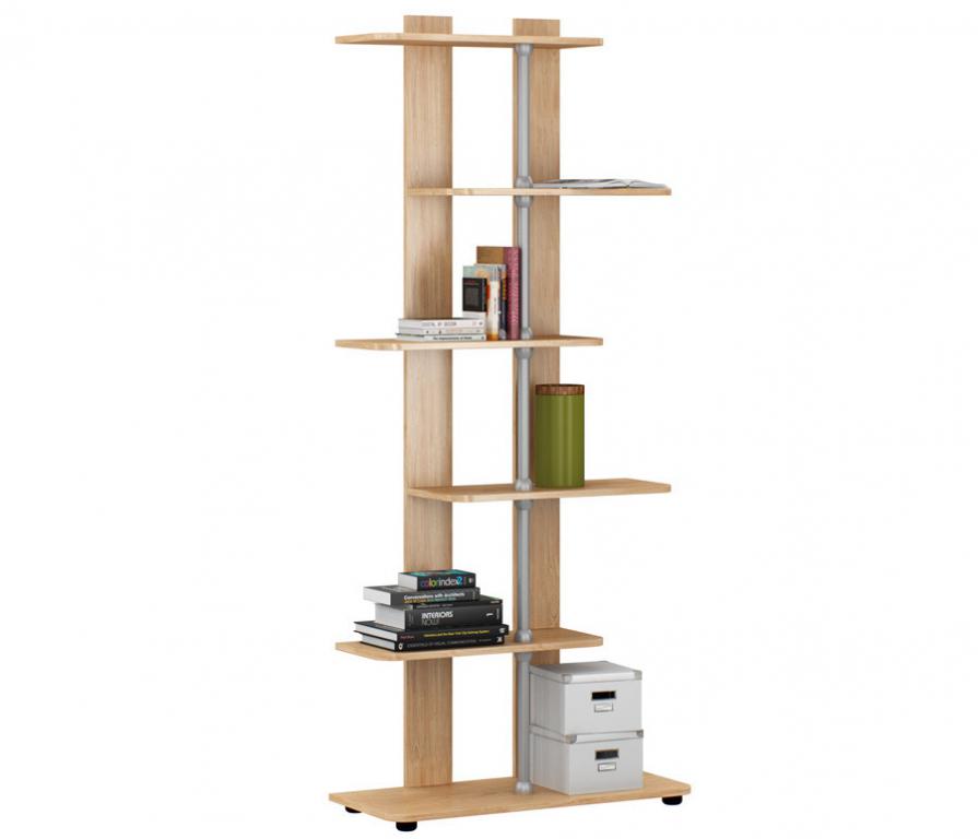 Купить Терра Комфорт СБ-2337 Стеллаж БукW в интернет магазине мебели СТОЛПЛИТ